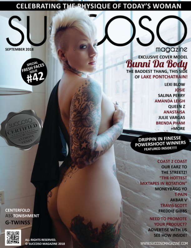 View Succoso Magazine Issue #42 featuring Cover Models Bunni Da Body / Lexi Blow by SUCCOSO MAGAZINE