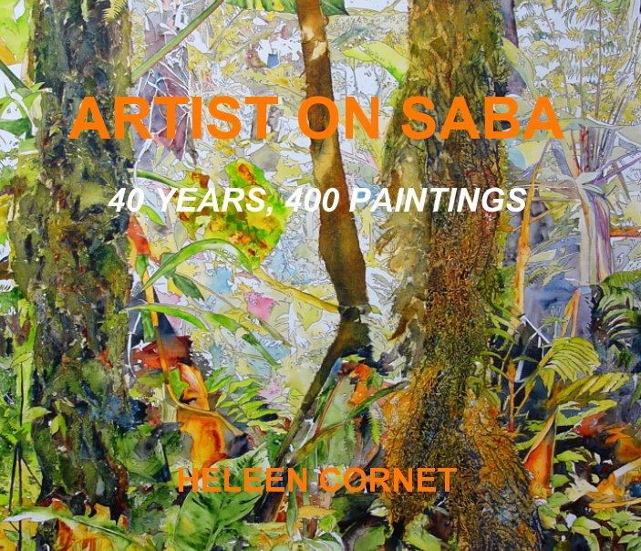 View art on saba by Heleen Cornet