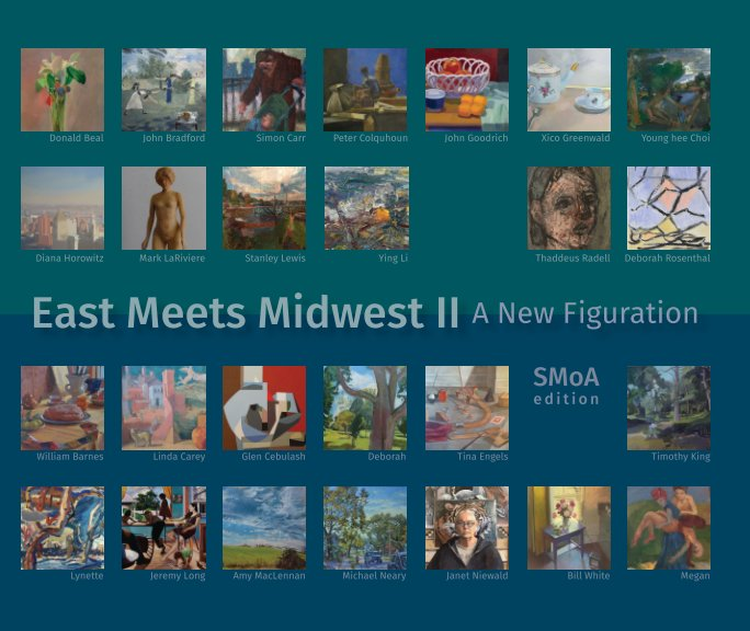 View East Meets Midwest II: A New Figuration SMOA 2018 by Timothy King