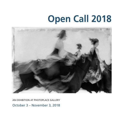 View Open Call 2018, Hardcover Imagewrap by PhotoPlace Gallery