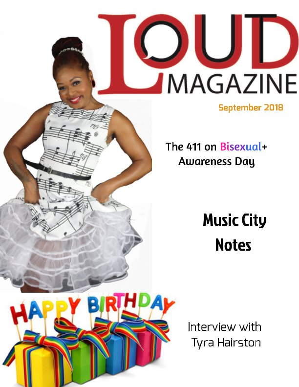 View OutLoud_September Issue by Tyra Hairston