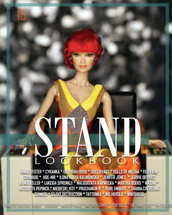 View Stand, Lookbook - Volume 15 Fashion Cover by STAND