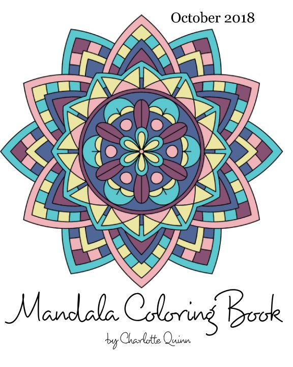 View Mandala Coloring Book by Charlotte Quinn