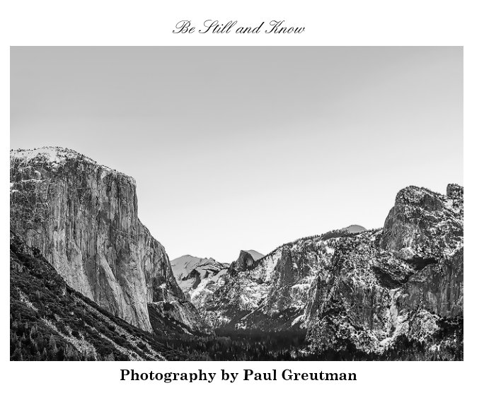 View Be Still and Know by Paul Greutman
