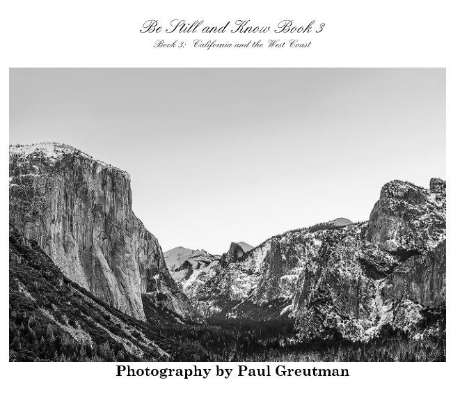 View Be Still and Know Book 3 by Paul Greutman