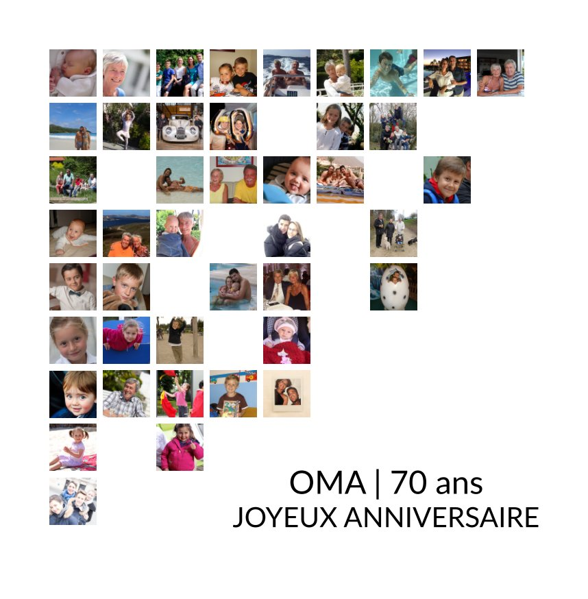 View Oma | 70 ans by Famille Michellon