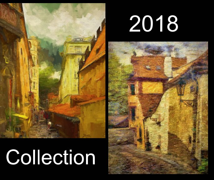 View A collection of my 2018 works including works from my travels around the United Kingdom, Prague and Corfu. by Leigh Kemp