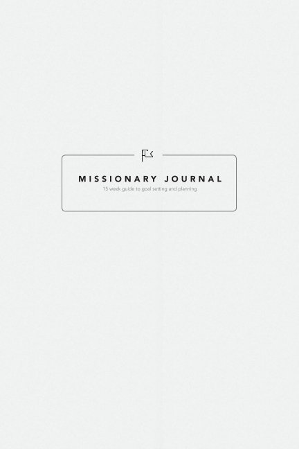 View Missionary Journal (Daily, Softcover) by Underground Network