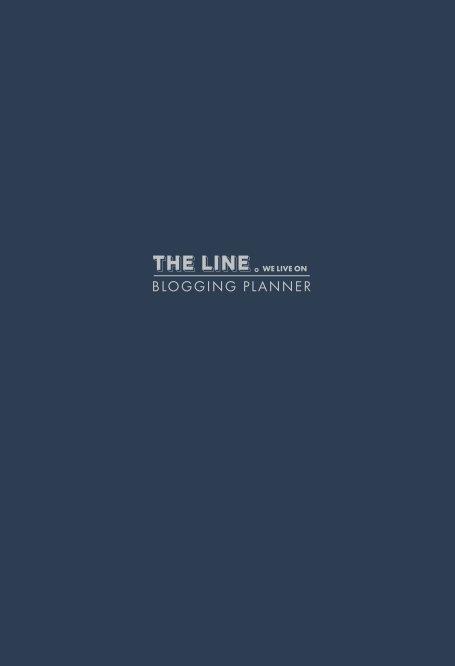 View The Line We Live On Blogging Planner (Blue) by Amanda Nicholls + Chris Downes