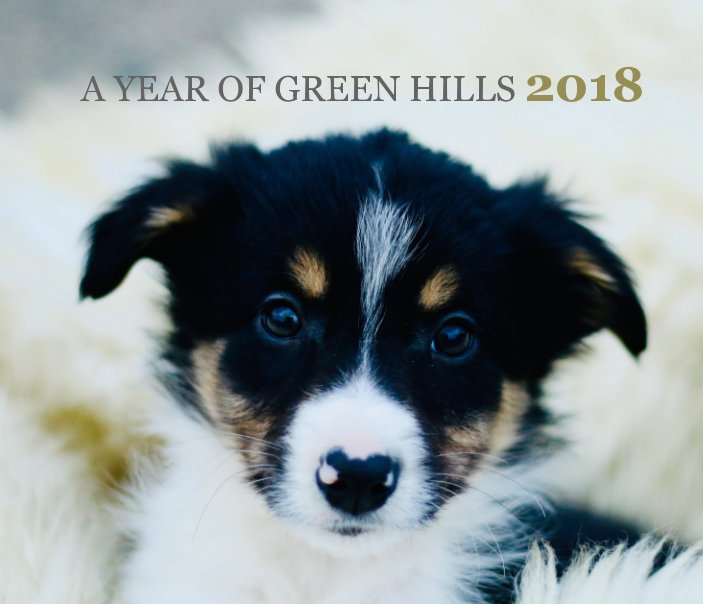 View A Year of Green Hills 2018 by Ruth McCracken