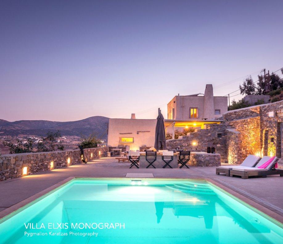 View Villa Elxis Monograph by Pygmalion Karatzas