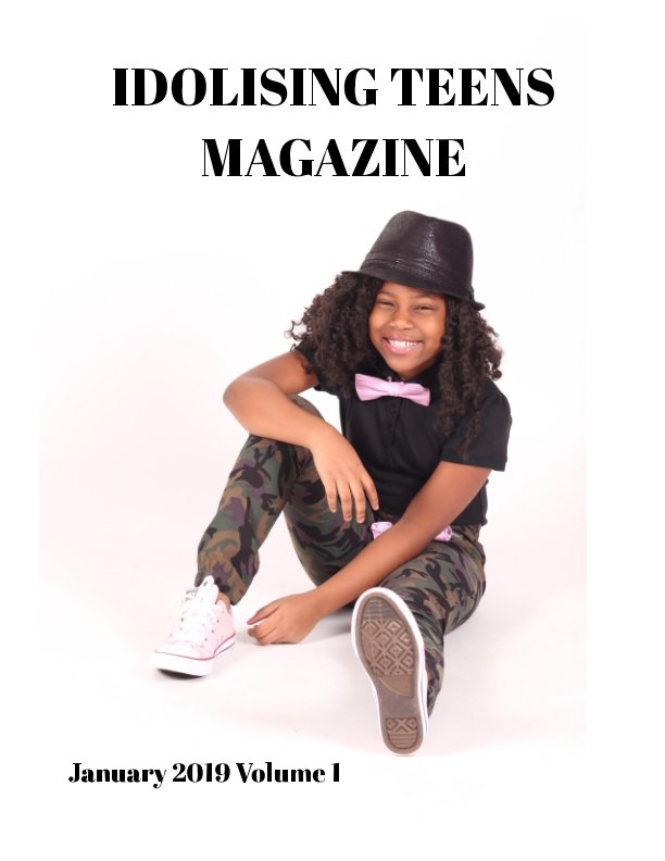 View Idolising Teens Magazine by Marvellous A, Christen Simmons