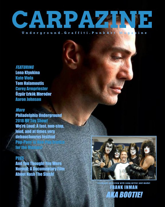 View Carpazine Art Magazine Issue Number 18 by Carpazine