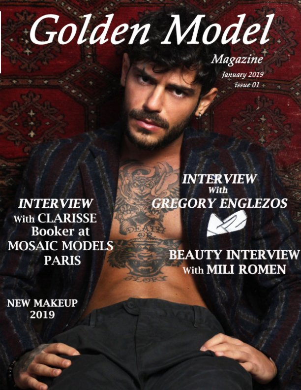 View Golden Model Magazine January 2019 Cover b by Cyrille KOPP
