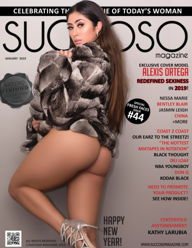 View Succoso Magazine Issue #44 featuring Cover Models Alexis Ortega / Kathy LaRubia by SUCCOSO MAGAZINE