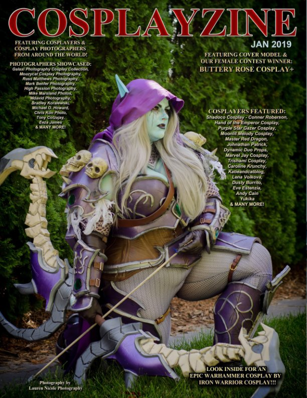 View CosplayZine January 2019 Issue by cosplayzine