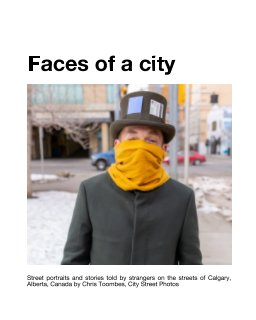 Faces from a city