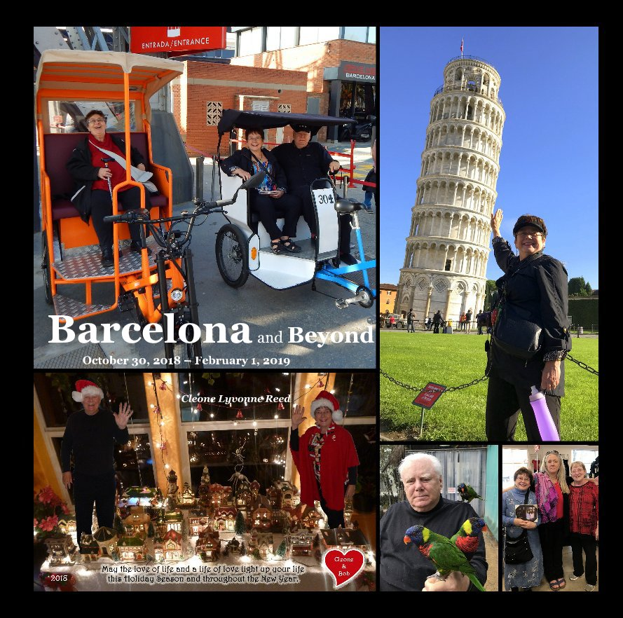 View Barcelona and Beyond October 30, 2018 – February 1, 2019 by Cleone Lyvonne Reed