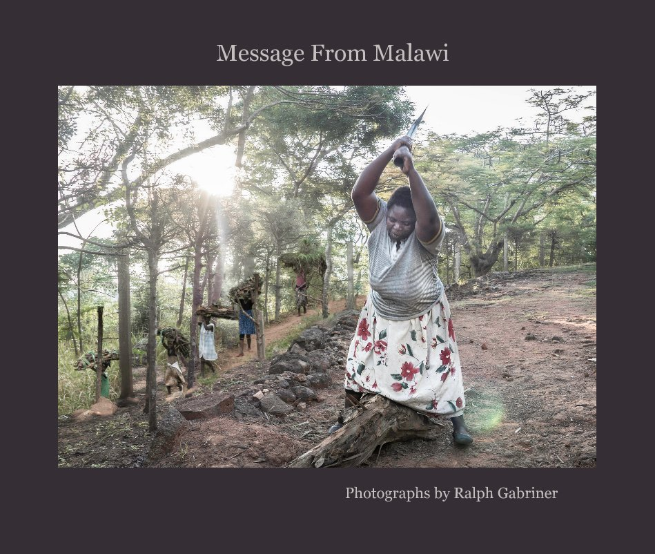 View Message From Malawi by Ralph Gabriner