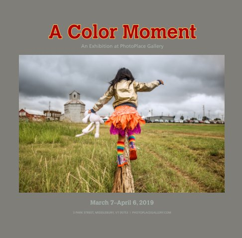 View A Color Moment, Softcover by PhotoPlace Gallery