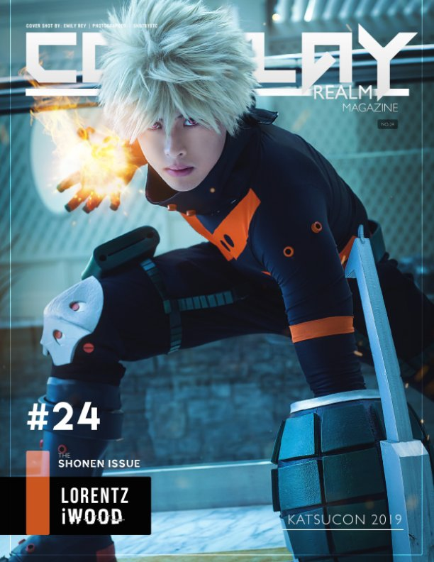 View Cosplay Realm Magazine No. 24 by Emily Rey, Aesthel