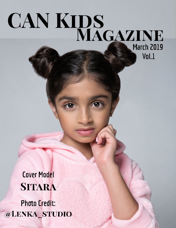 View March 2019 Vol.1 by CANKids Magazine