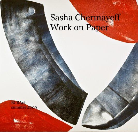 View Sasha Chermayeff Work on Paper by Sasha Chermayeff