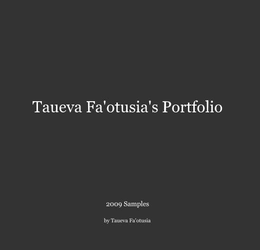 Ver Taueva Fa'otusia's Portfolio por Taueva Fa'otusia