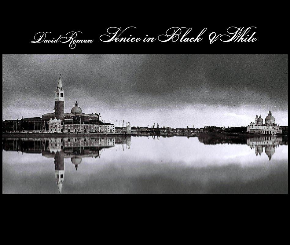 View Venice in Black & White by David Roman