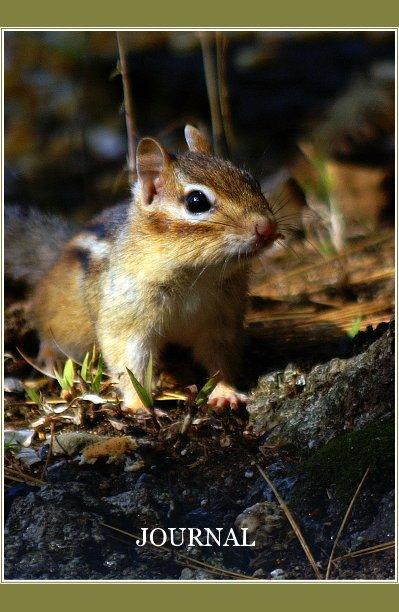 View Blank Journal - Chipmunk/Moose by Lori-Ann Willey