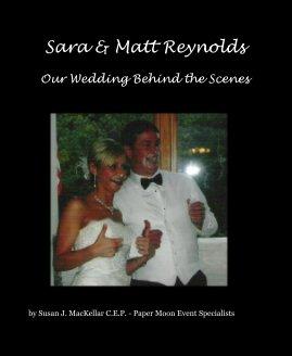 Sara & Matt Reynolds - Wedding photo book