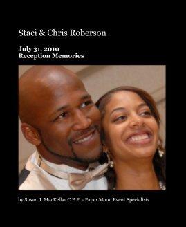 Staci & Chris Roberson - Wedding photo book