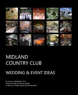 MIDLAND COUNTRY CLUB - Wedding photo book