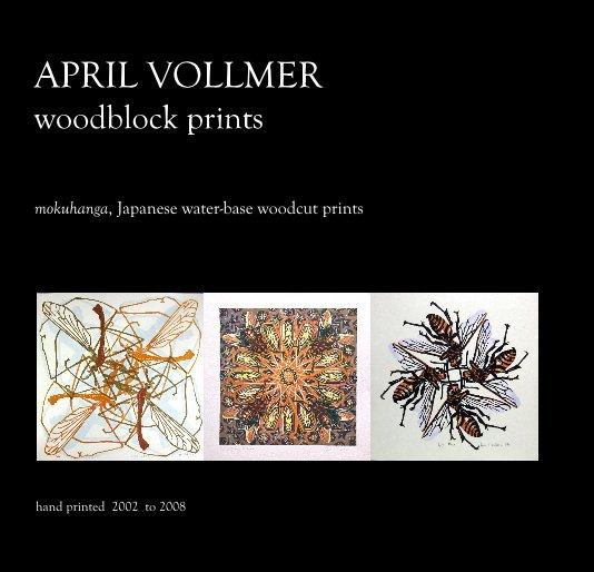 View APRIL VOLLMER woodblock prints by April Vollmer