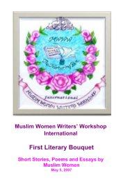 Muslim Women Writers' Workshop International First Annual Folio, May 2007 - Religion & Spirituality pocket and trade book