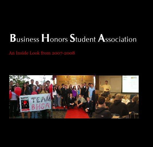 Bekijk Business Honors Student Association op jvanderzell