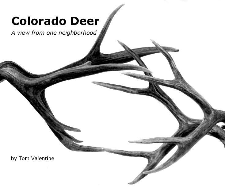 Ver Colorado Deer (10x8) por Tom Valentine