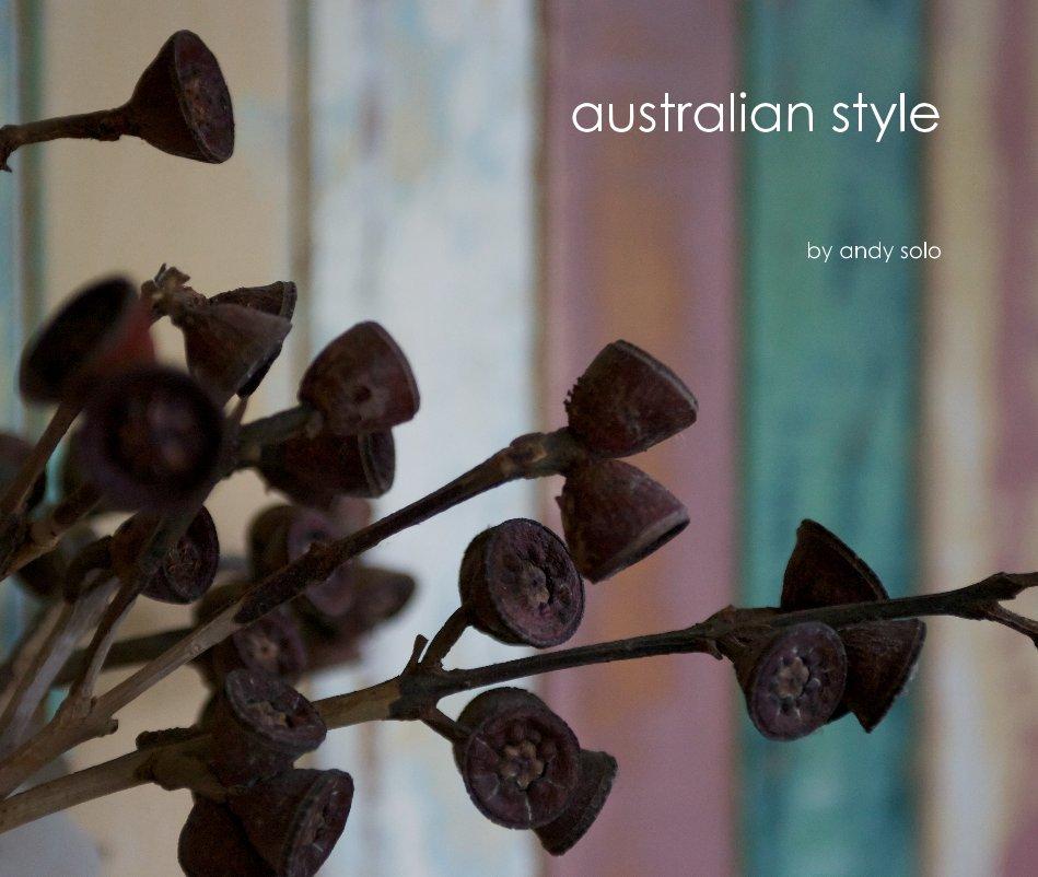 Ver australian style por andy solo