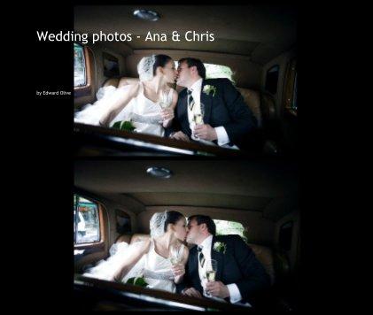 Wedding photos - Ana & Chris - Wedding photo book