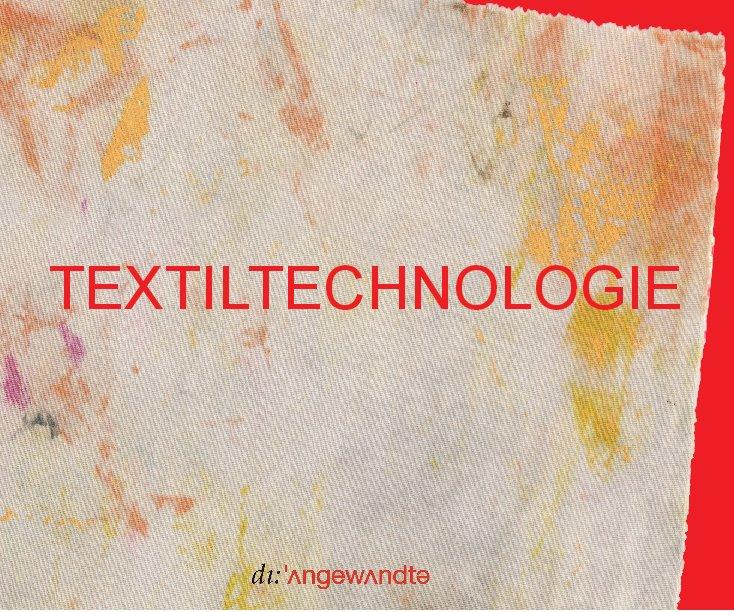 TEXTILTECHNOLOGIE nach Abteilung Textiltechnologie anzeigen