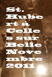 St. Hubert à Celles sur Belle Novembre 2011 - Livres d'art et de photographie Poche et Grand poche