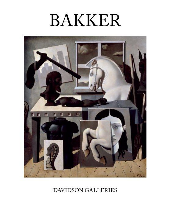 View Gabrielle Bakker (softcover) by Gabrielle Bakker