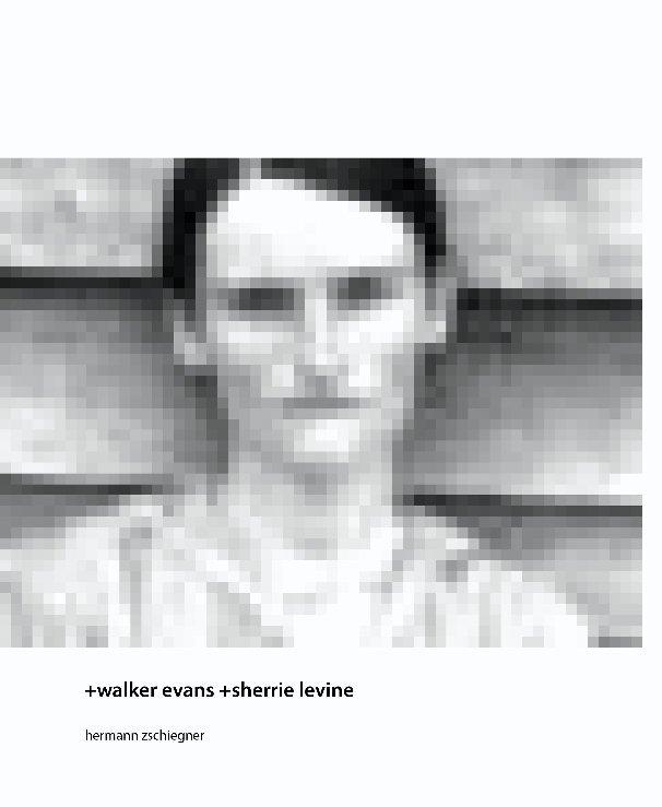 View +walker evans +sherrie levine by Hermann Zschiegner
