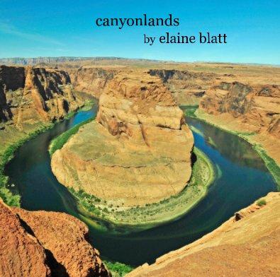 canyonlands by elaine blatt - Arts & Photography Books photo book