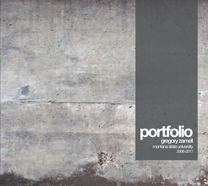 Beliebt Bevorzugt M.Arch Portfolio 2012 by Gregory Zamell | Blurb Books UK &UC_94
