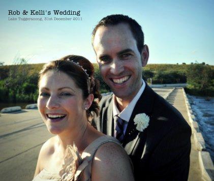 Rob & Kelli's Wedding - Wedding photo book