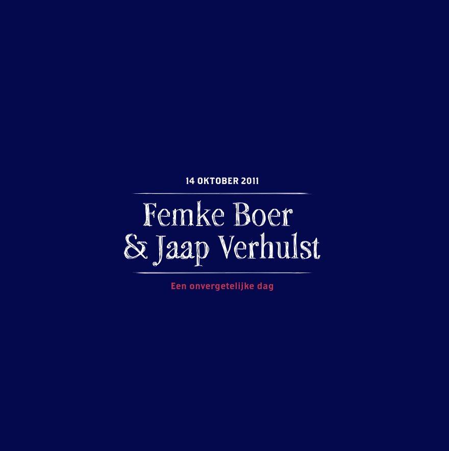View Femke & Jaap trouwen by Jasper Went