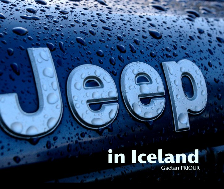 View A Jeep in Iceland by in Iceland Gaëtan PRIOUR