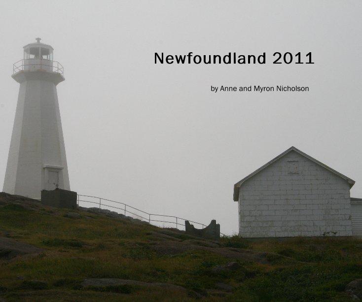 View Newfoundland 2011 by Anne and Myron Nicholson
