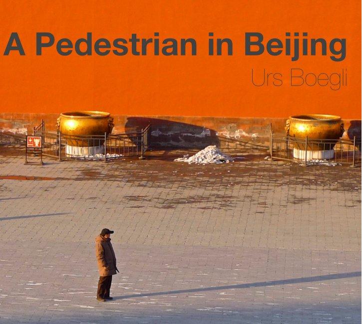 View A Pedestrian in Beijing by Urs Boegli